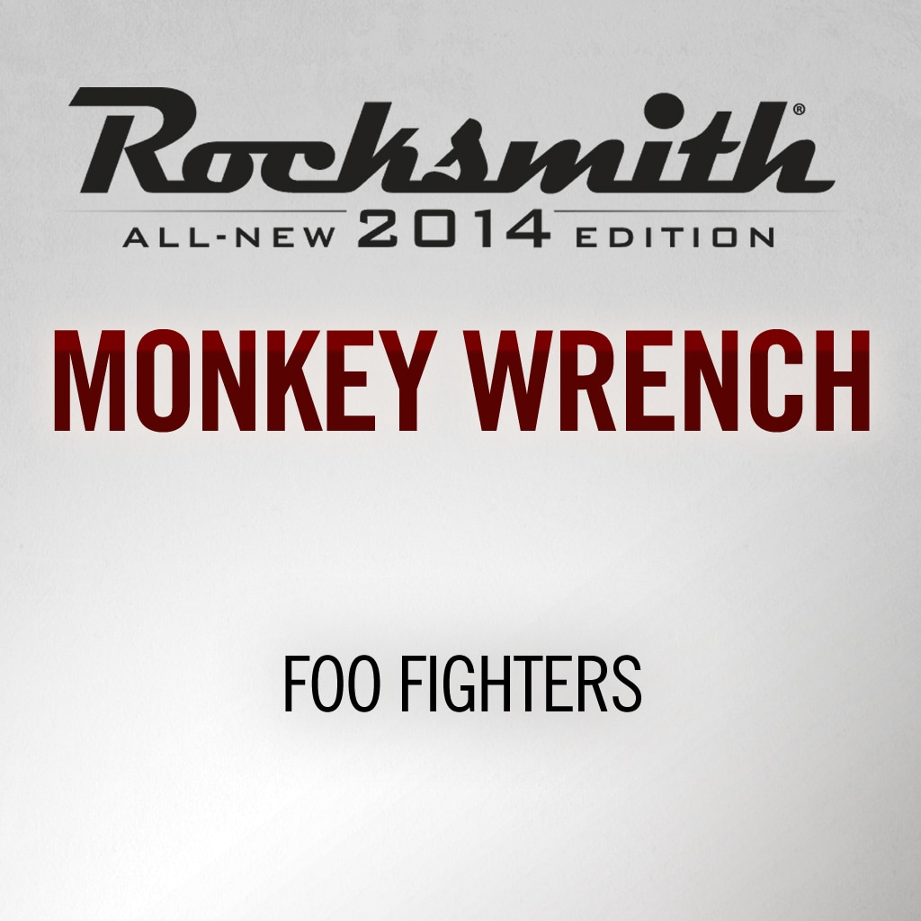 Rocksmith® 2014 - Foo Fighters - Monkey Wrench