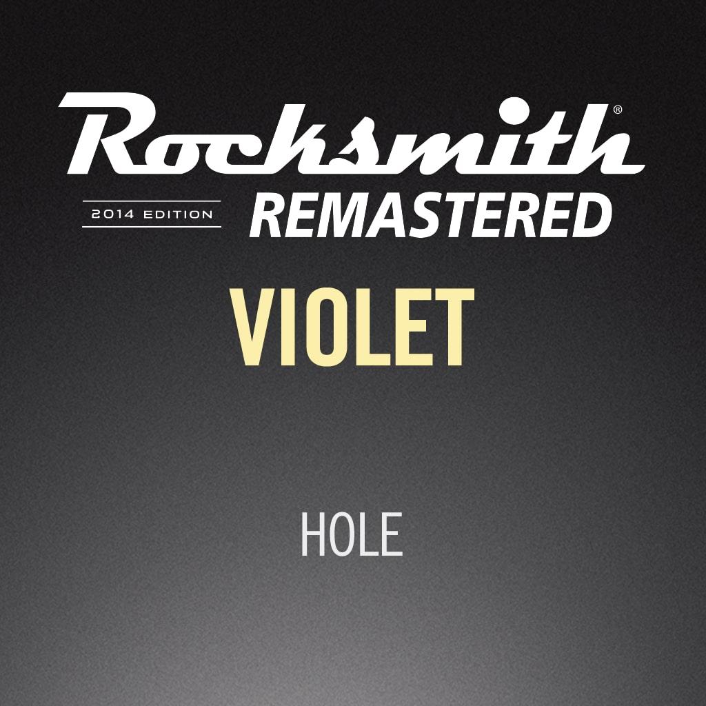 Rocksmith® 2014 - Hole - Violet