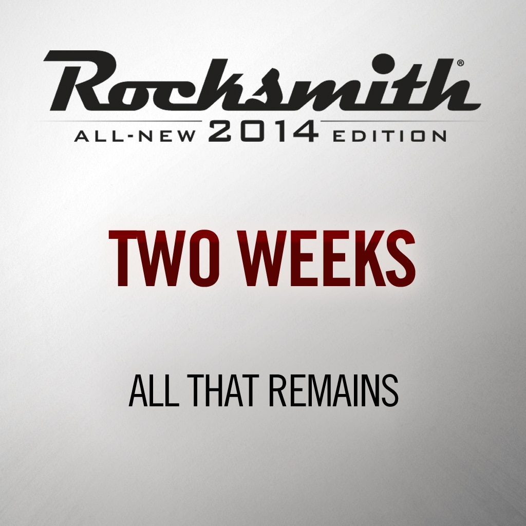 Rocksmith® 2014 - All That Remains - Two Weeks