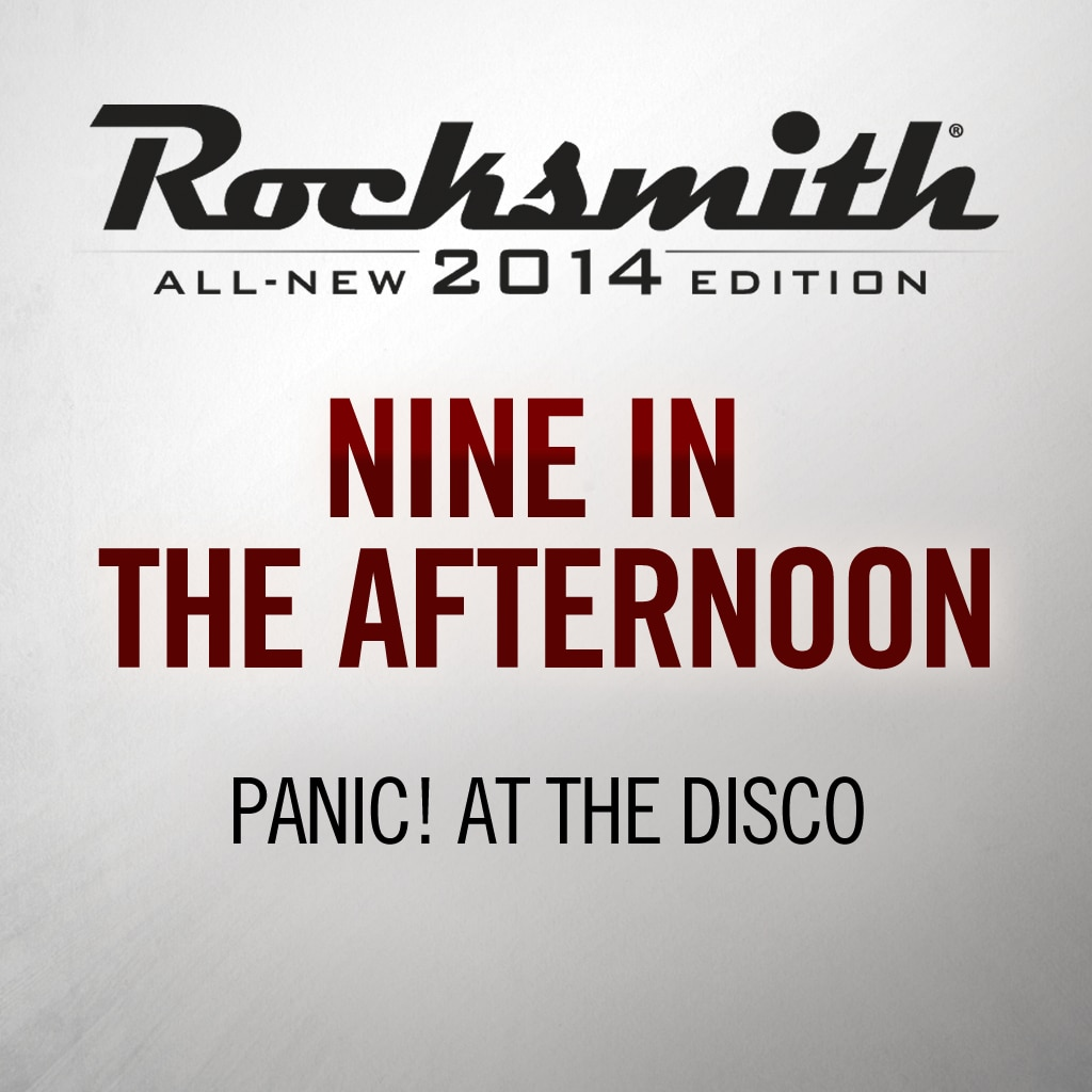 Rocksmith® 2014 - Panic! at the Disco - Nine in the Afternoon