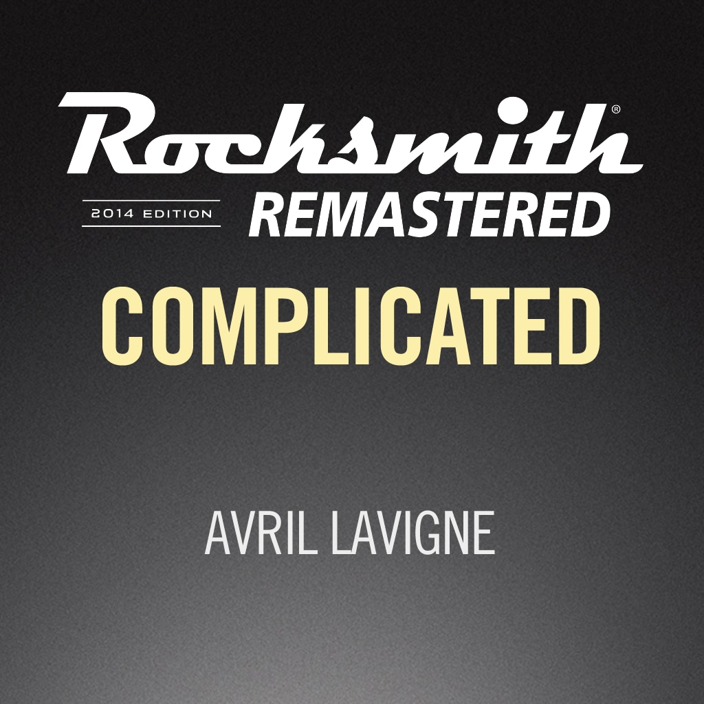 Rocksmith® 2014 - Avril Lavigne - Complicated