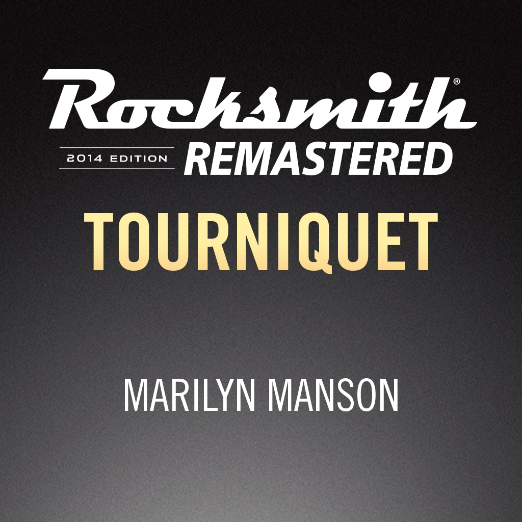 Rocksmith® 2014 - Marilyn Manson - Tourniquet