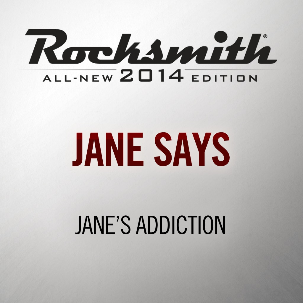 Rocksmith® 2014 - Jane's Addiction - Jane Says