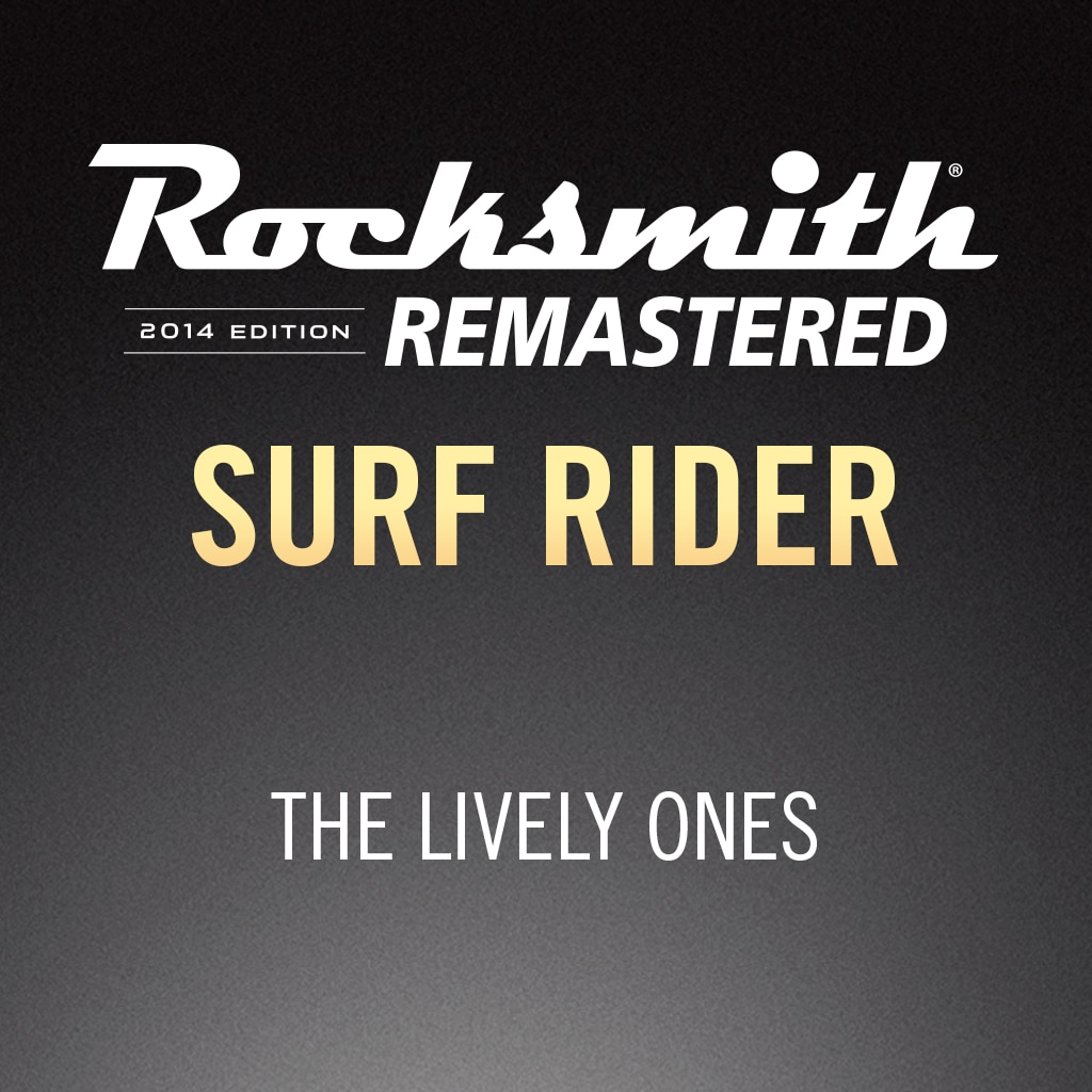 Rocksmith® 2014 - The Lively Ones - Surf Rider