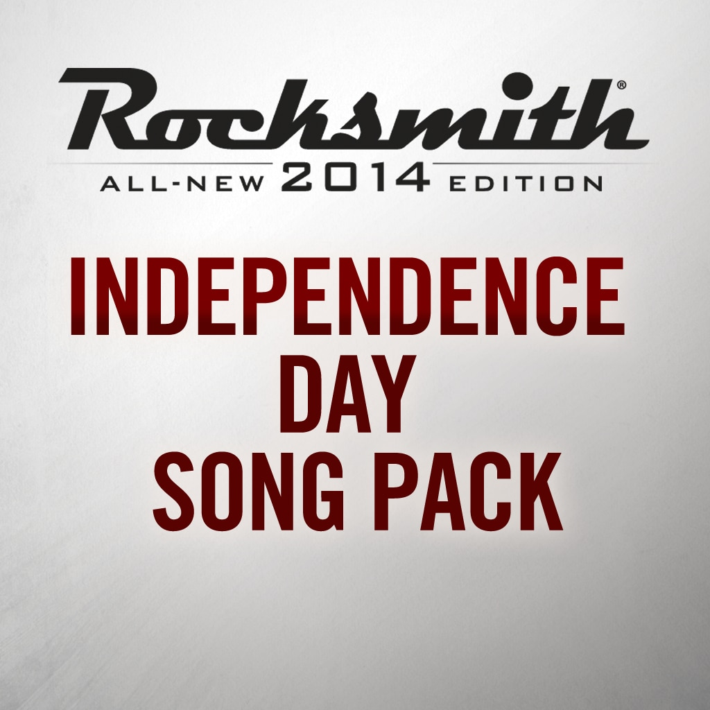 Rocksmith® 2014 - Canciones Independence Day
