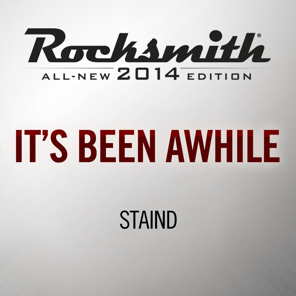 Rocksmith® 2014 - Staind - It's Been Awhile