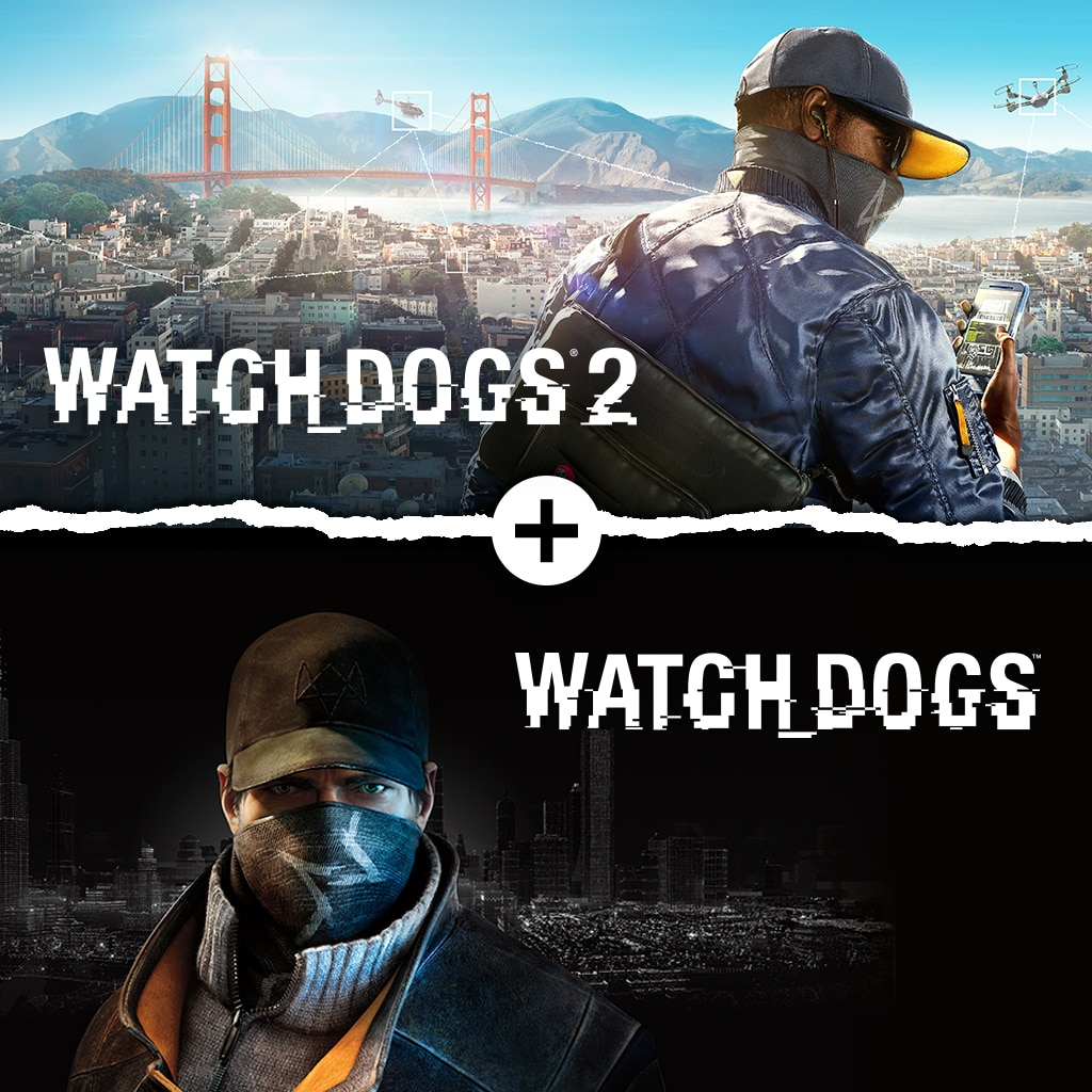 Watch Dogs 1 + Watch Dogs 2 Standard Editions Bundle