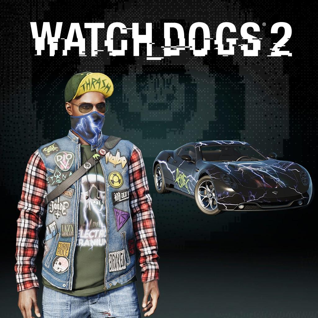 Watch Dogs 2 - PACOTE THRASH DA BAY AREA