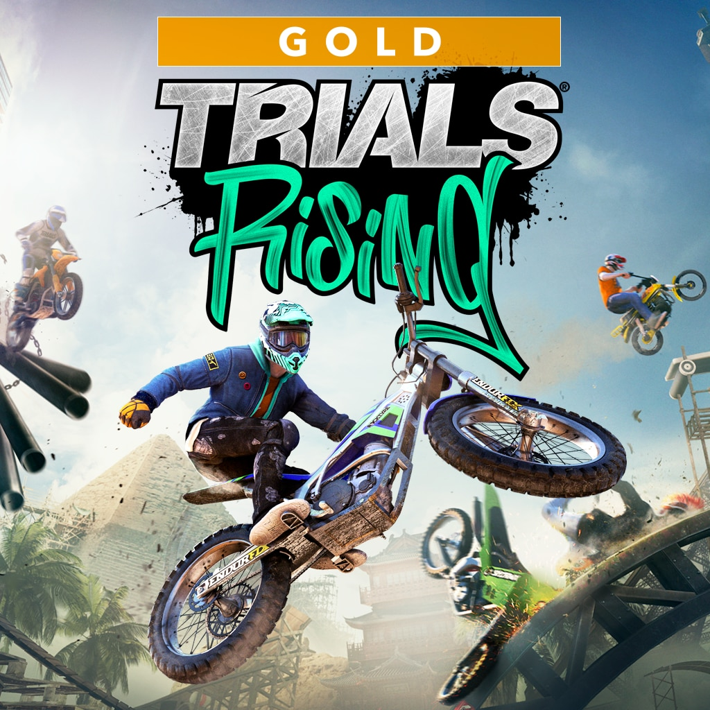 Trials Rising Edición Gold