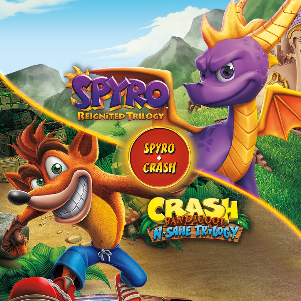 Spyro™ + Crash Remastered Game Bundle