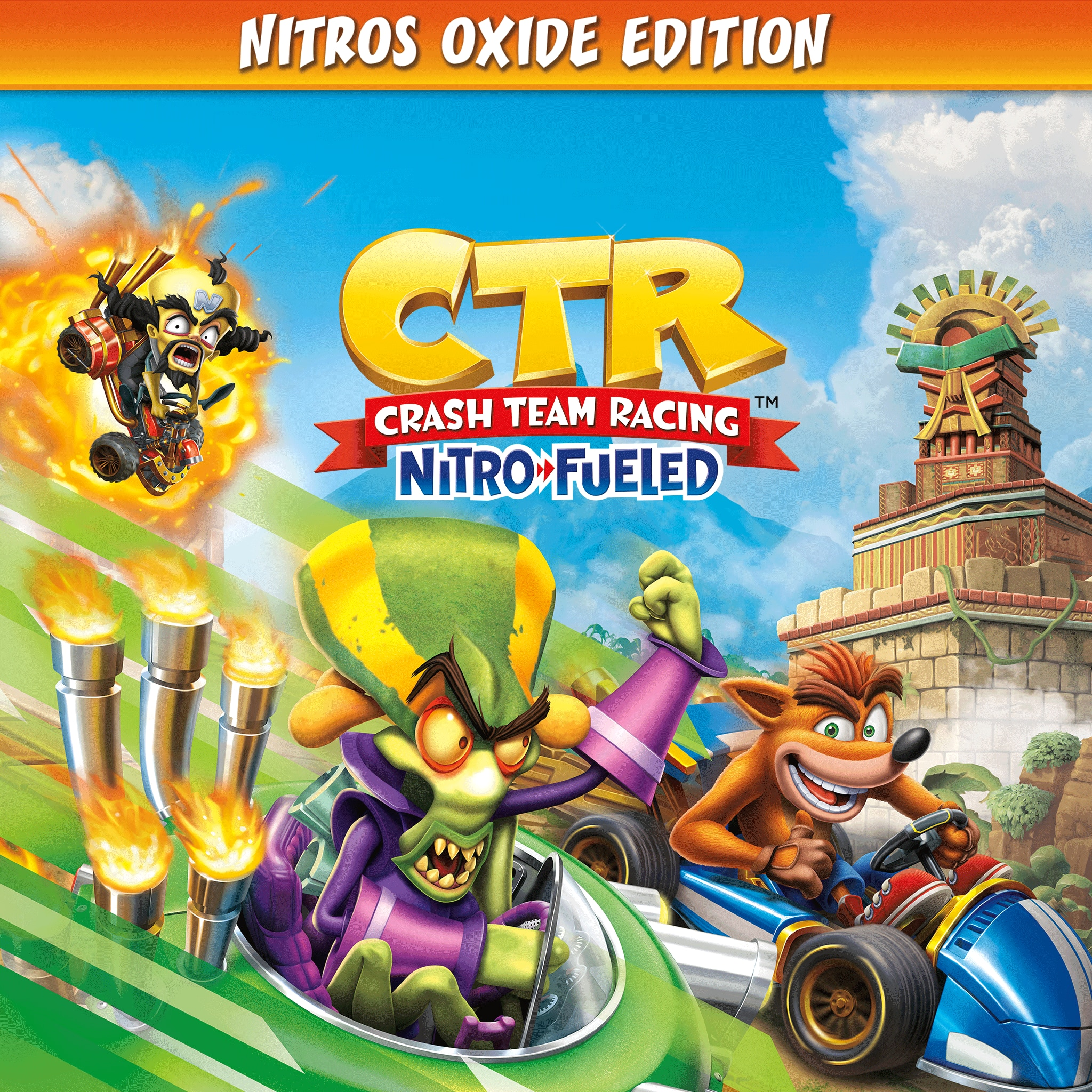 Crash™ Team Racing Nitro-Fueled - Edición Nitros Oxide
