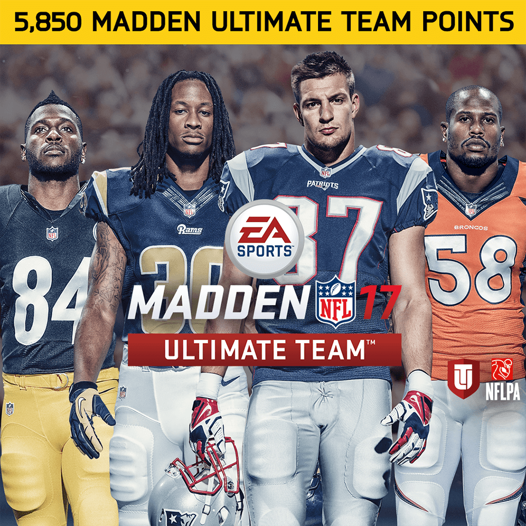 5850点《Madden NFL 17》Point (英文版)