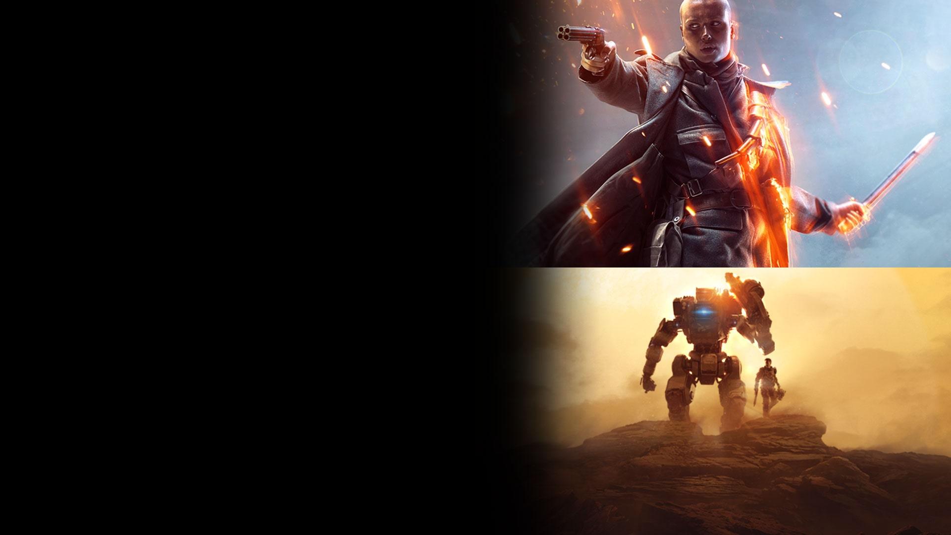 Battlefield™ 1 e Titanfall™ 2 Conjunto Ultimate