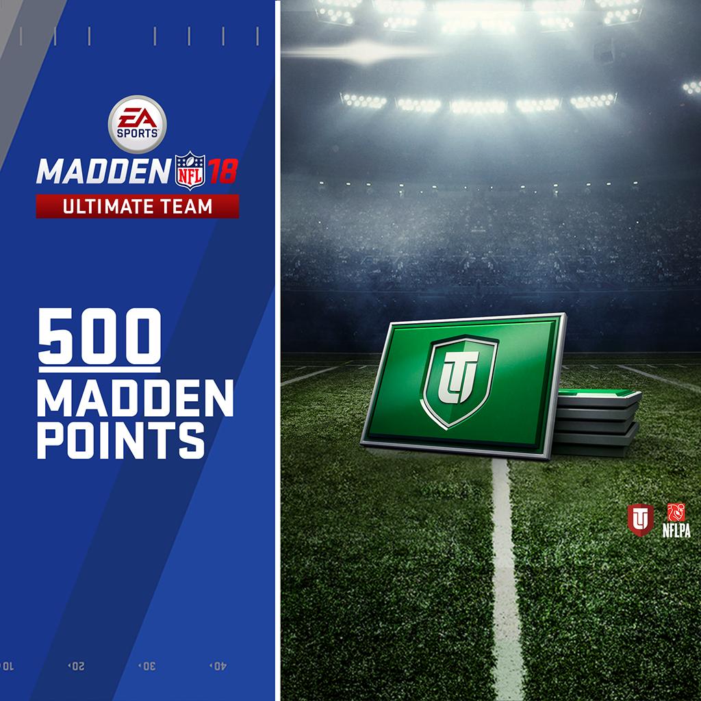 500个《Madden NFL 18》终极队伍积分 (英文版)