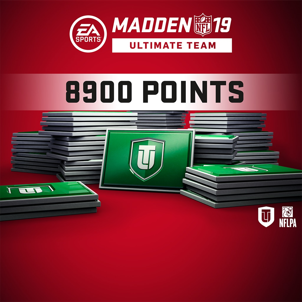 Madden NFL 19 Ultimate Team 8900 포인트 팩 (영어판)