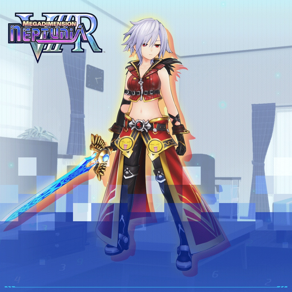 Neptunia VIIR: Dengeki Gold Third Costume Set