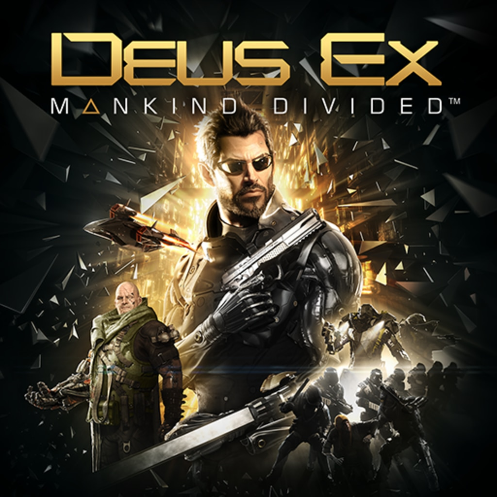 Deus Ex: Mankind Divided (英文版)