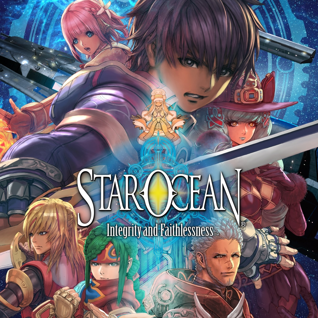 STAR OCEAN : INTEGRITY AND FAITHLESSNESS (英文版)