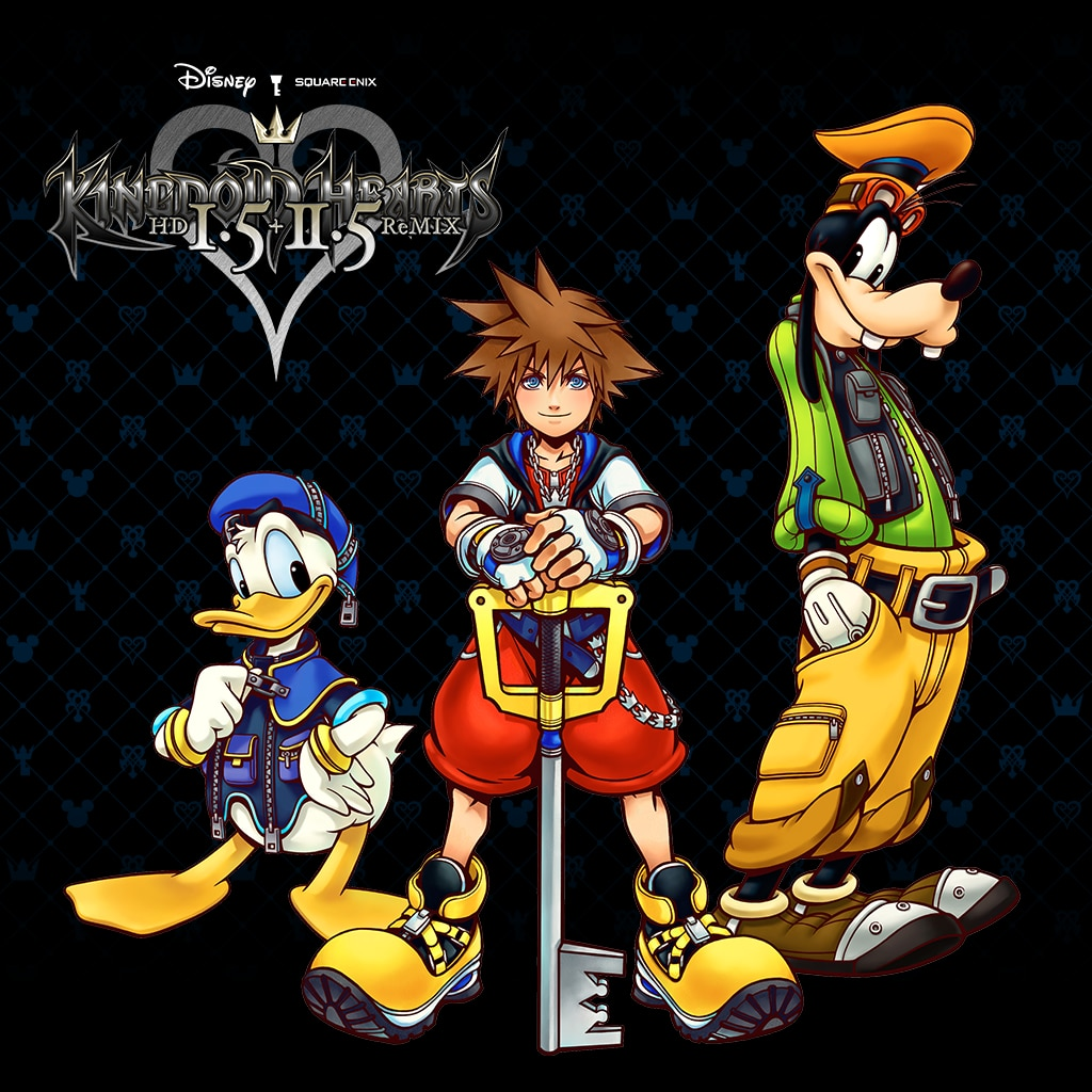 KINGDOM HEARTS HD -1.5+2.5 ReMIX- (英文版)