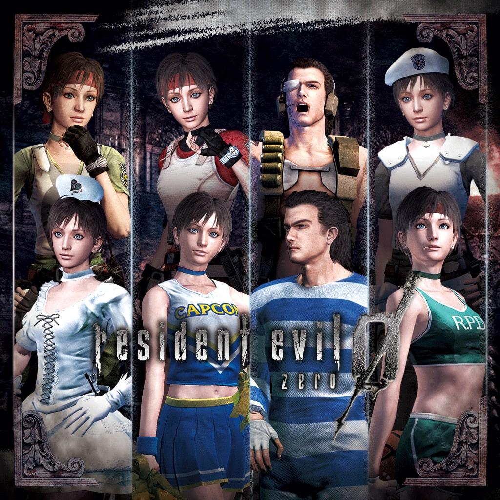 Resident Evil 0 - Complete Costume Pack