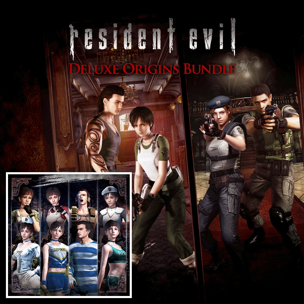Resident Evil: Deluxe Origins Bundle (English/Chinese/Japanese Ver.)
