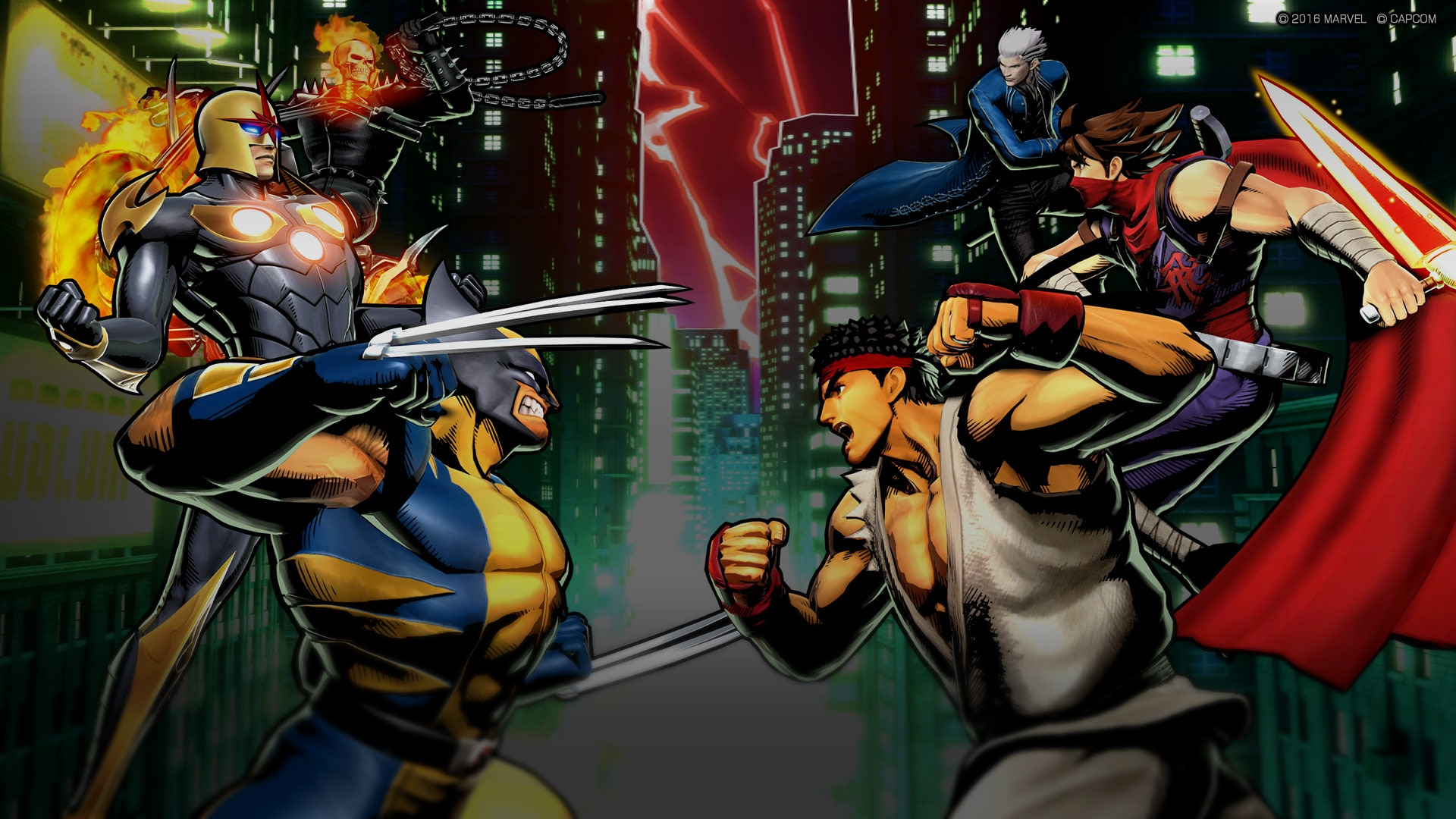 ULTIMATE MARVEL VS. CAPCOM 3 (English/Japanese Ver.)