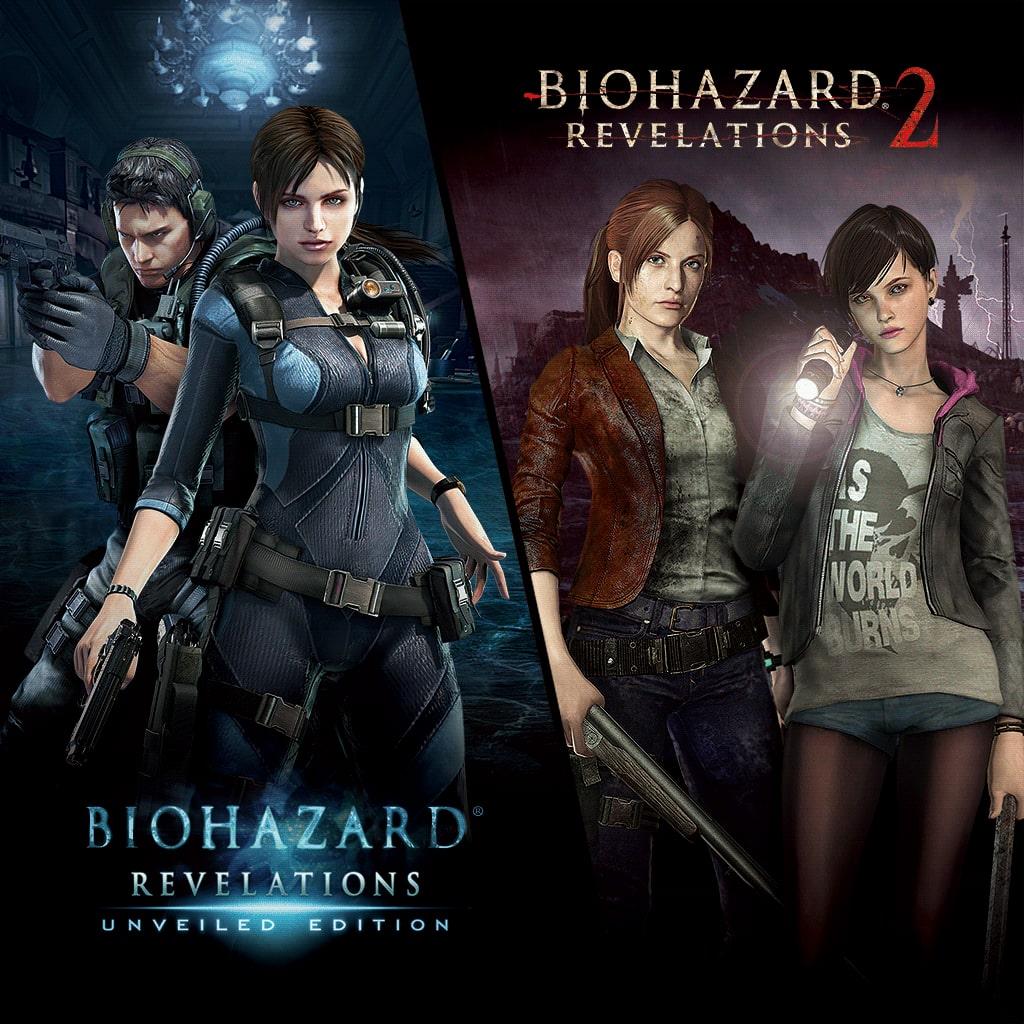 Biohazard Revelations 1 & 2 Bundle (영어판/일어판)