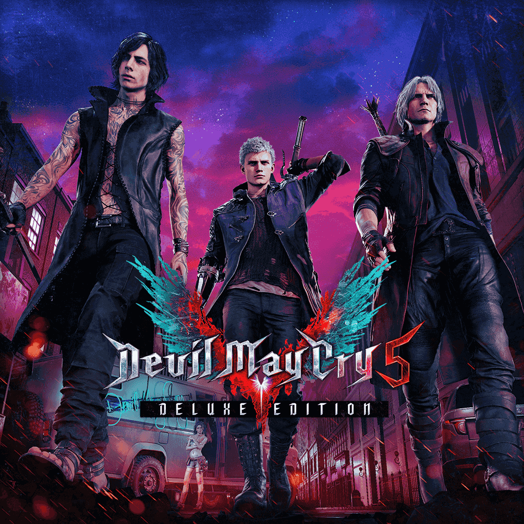 Devil May Cry 5 Deluxe Edition (영어, 일본어)