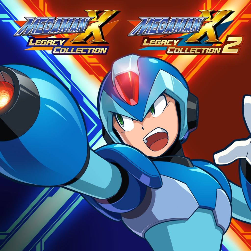 Mega Man X Legacy Collection 1+2 (English/Chinese/Japanese Ver.)
