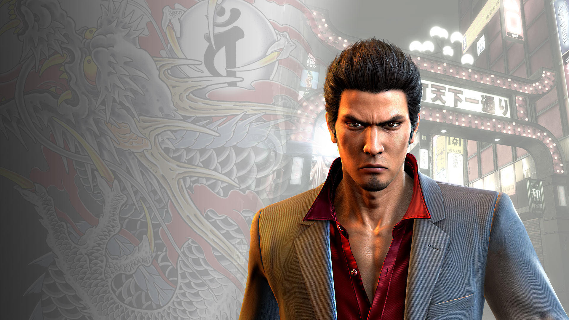 Yakuza 6: The Song of Life SSR Taiga Saejima Clan Creator Card
