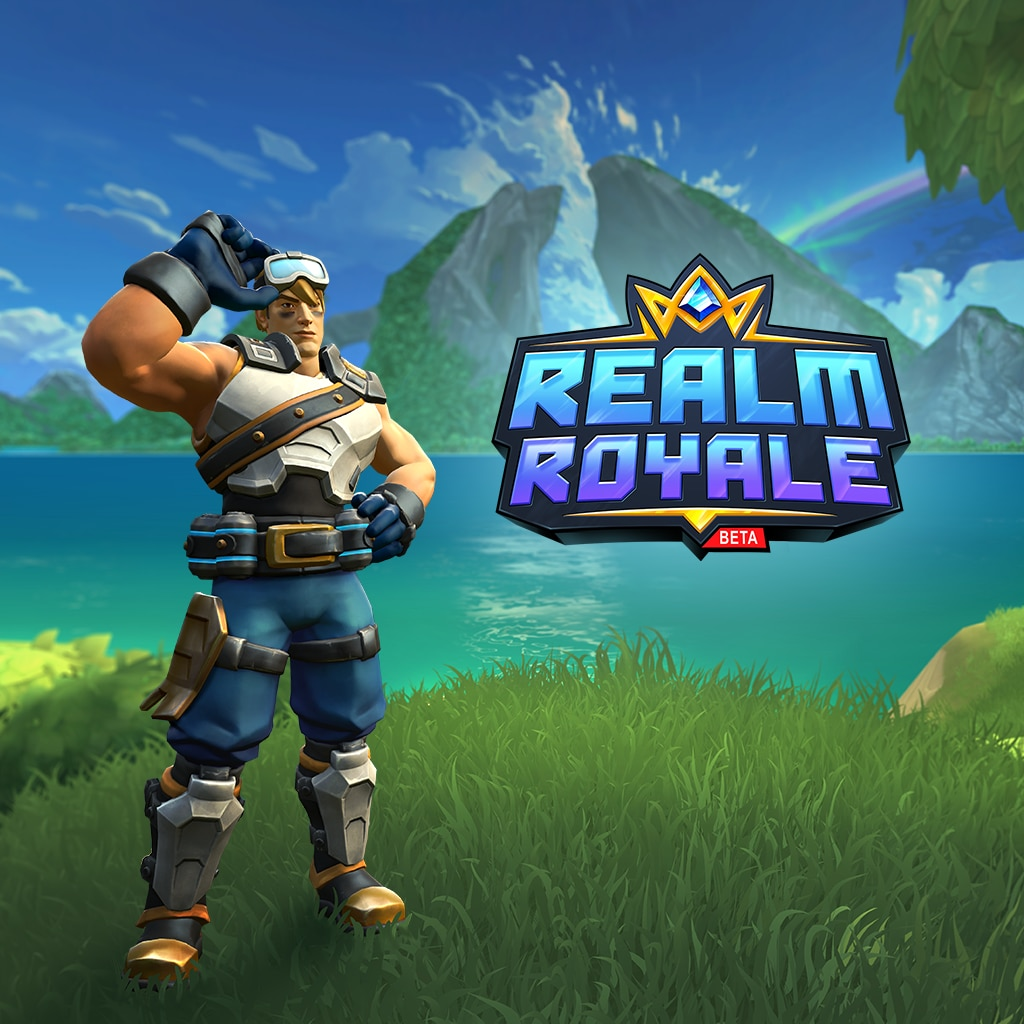 Realm Royale Sprocket Warrior Class Skin