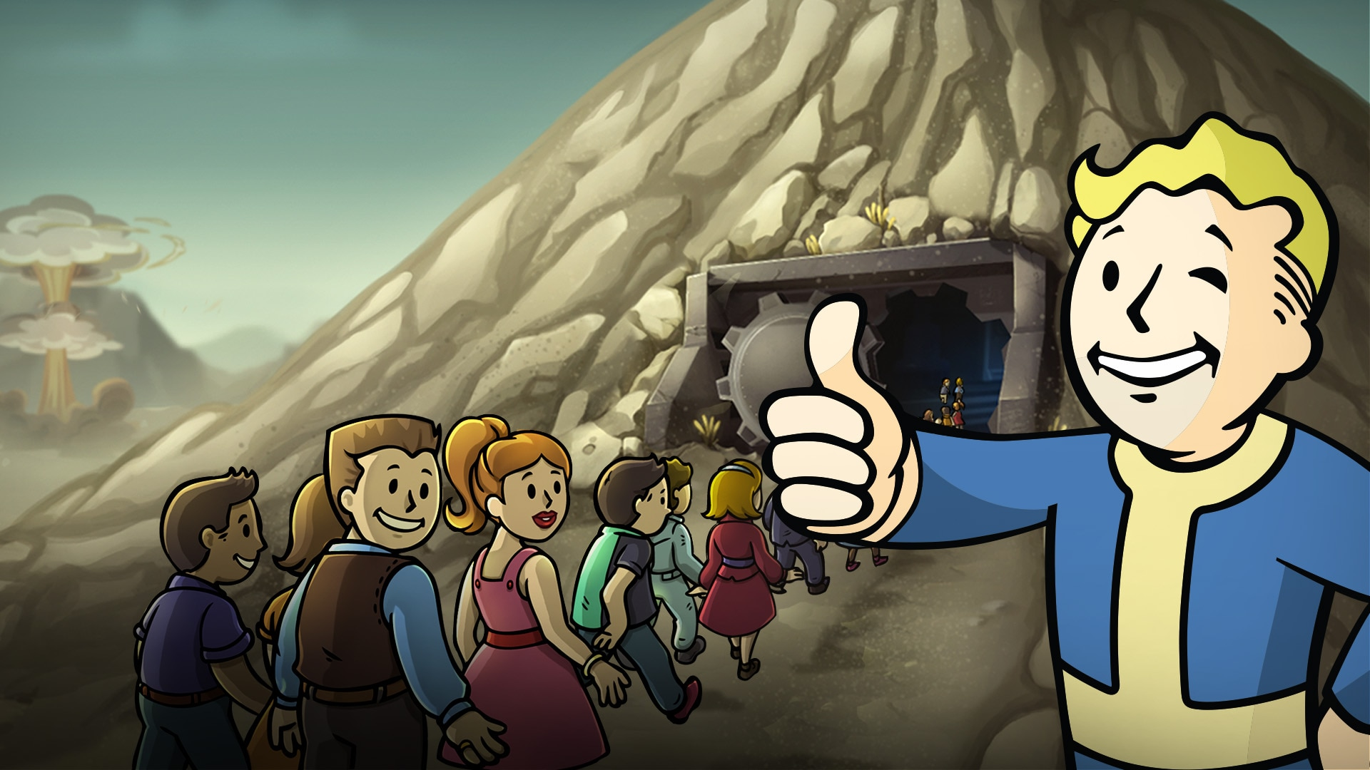 Fallout Shelter: Conjunto de 5 Mr. Handy