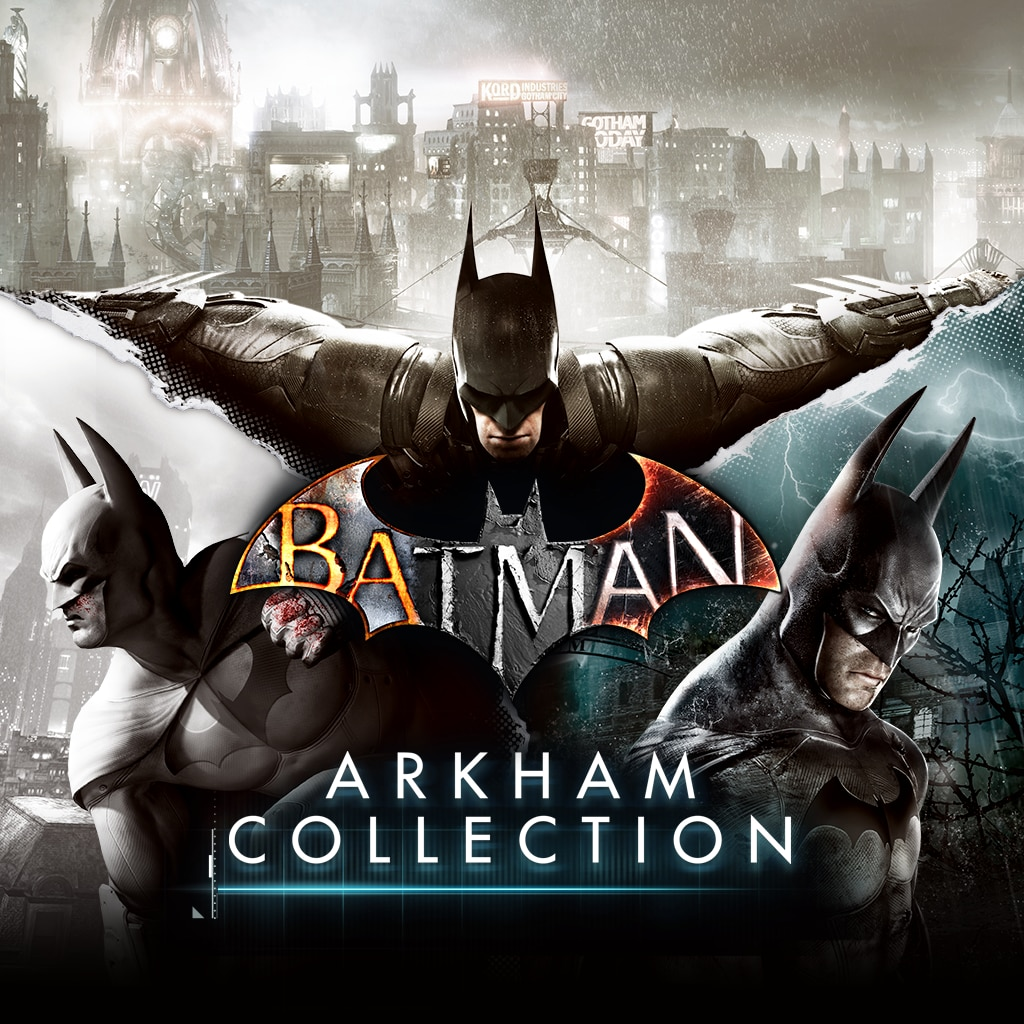Batman: Arkham Collection (English/Korean Ver.)