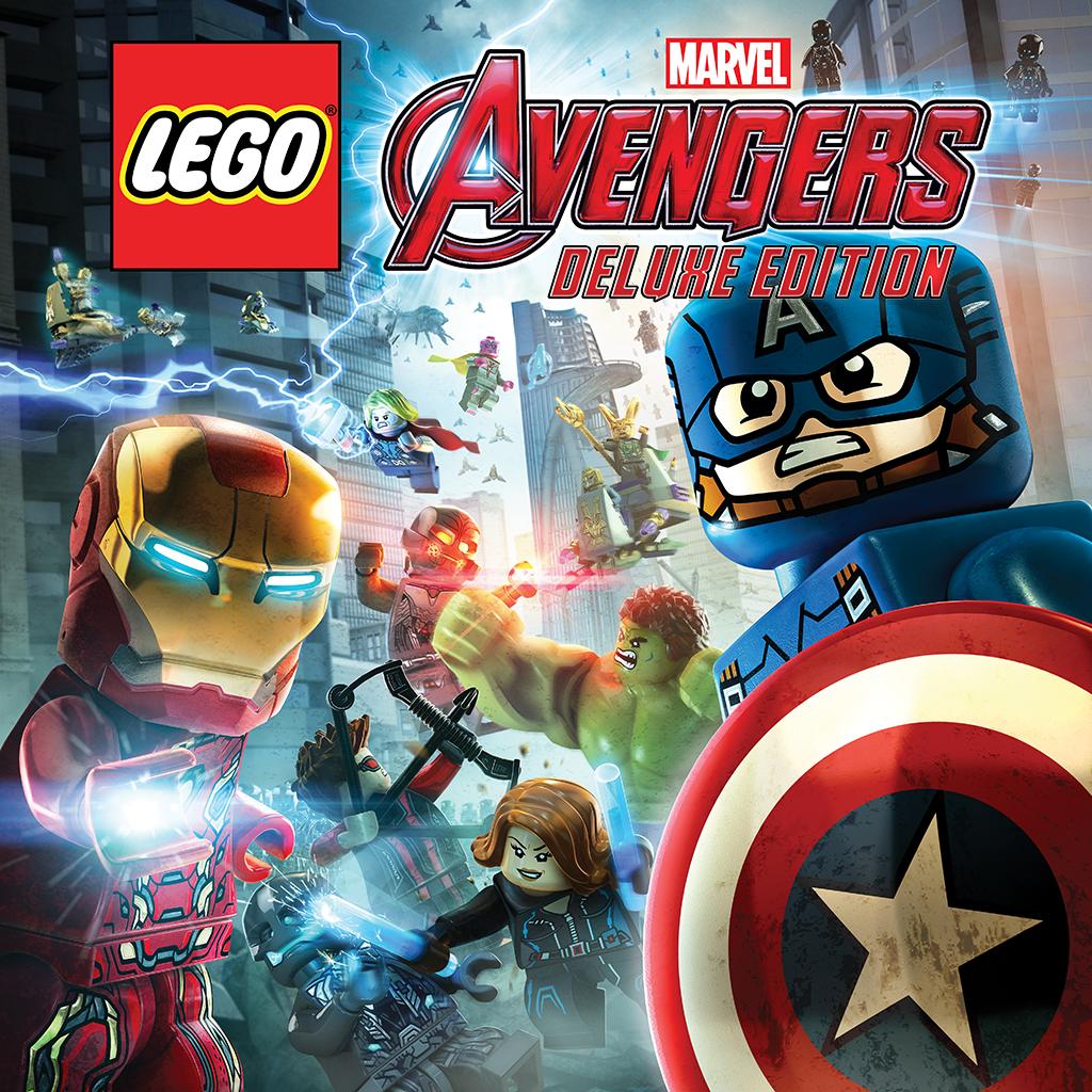 LEGO® 漫威復仇者聯盟豪華版 (英文版)