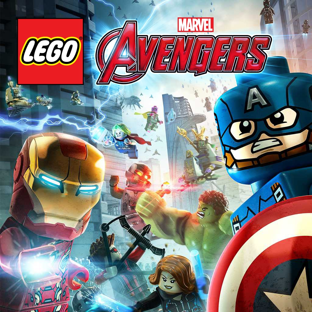 LEGO® 漫威復仇者聯盟 (英文版)