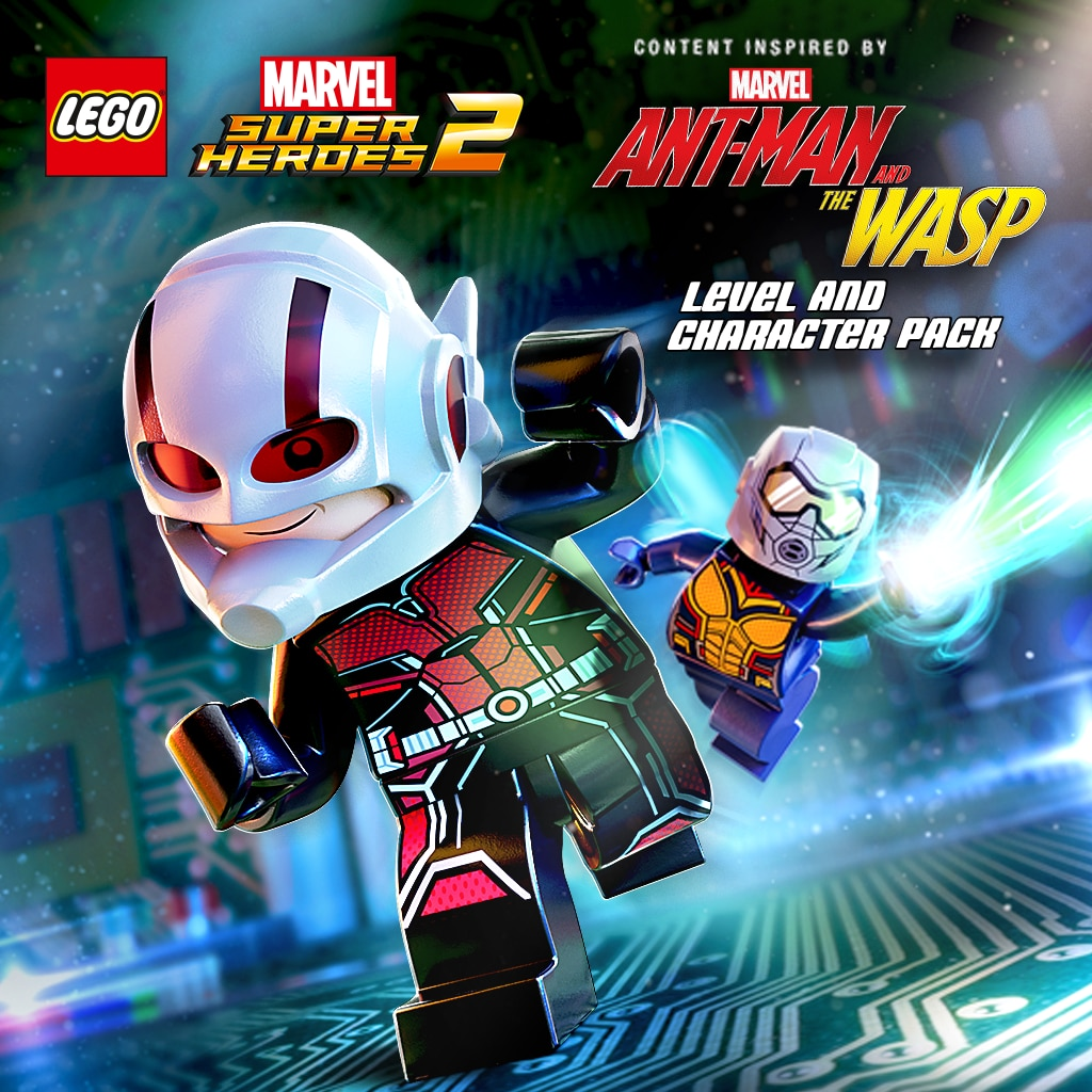 Marvel's Ant-Man and the Wasp Character and Level Pack