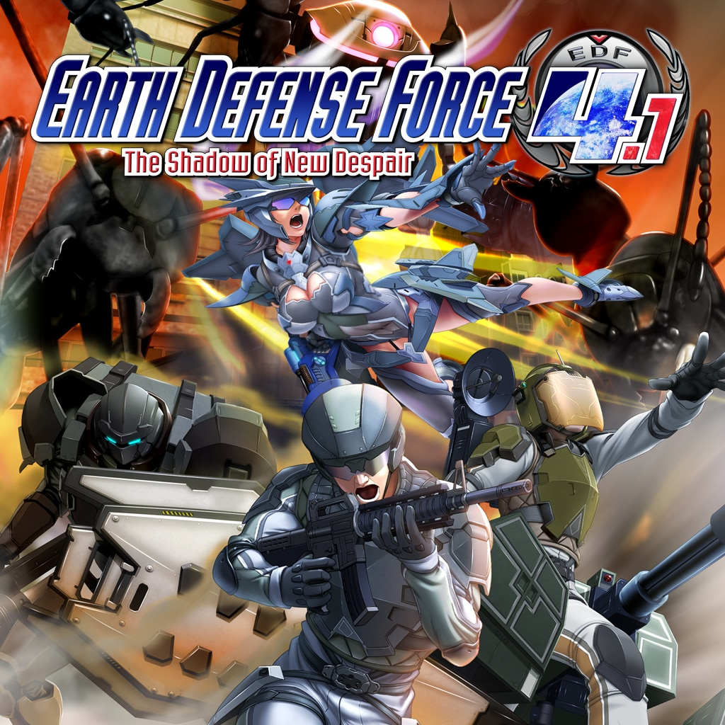 Earth Defense Force 4.1 - Blood Storm (English Ver.)