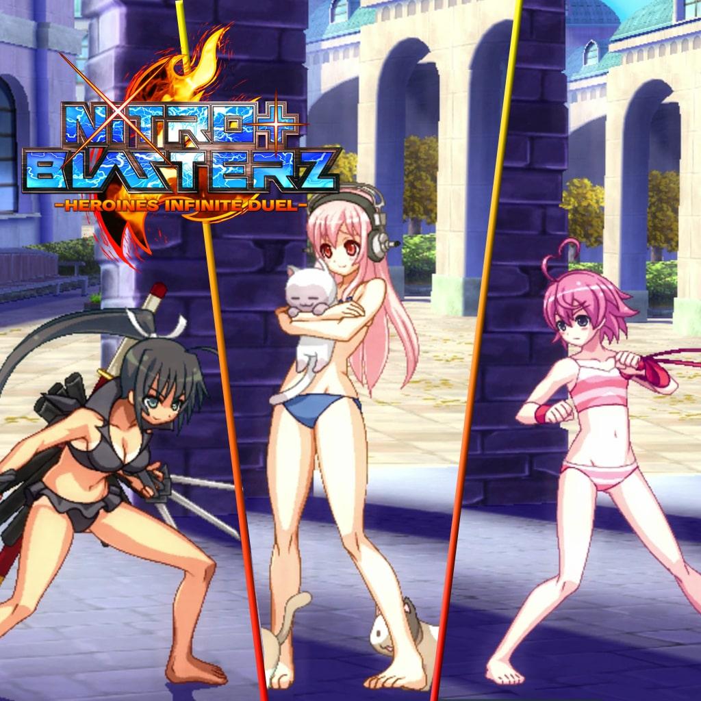 Nitroplus Blasterz — Bikini Costume Set