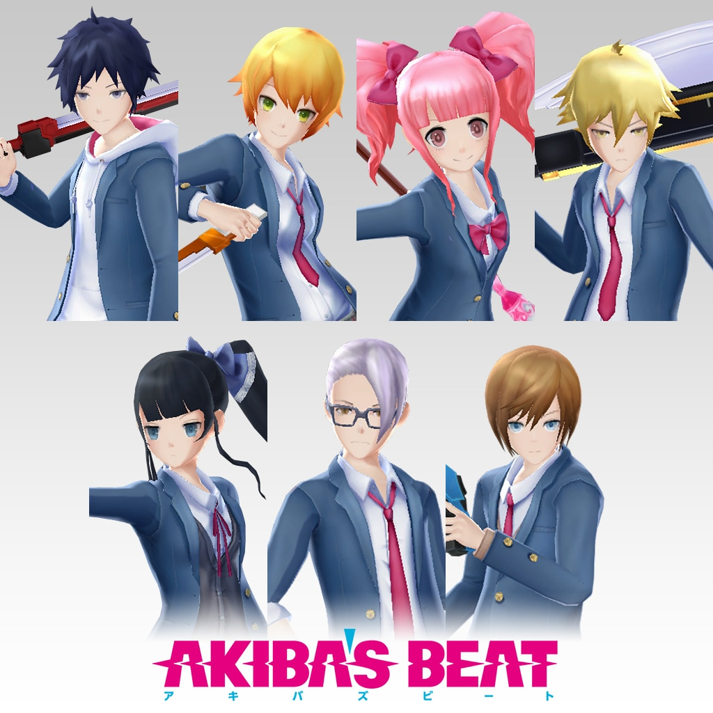 Akiba's Beat — School Uniform Set