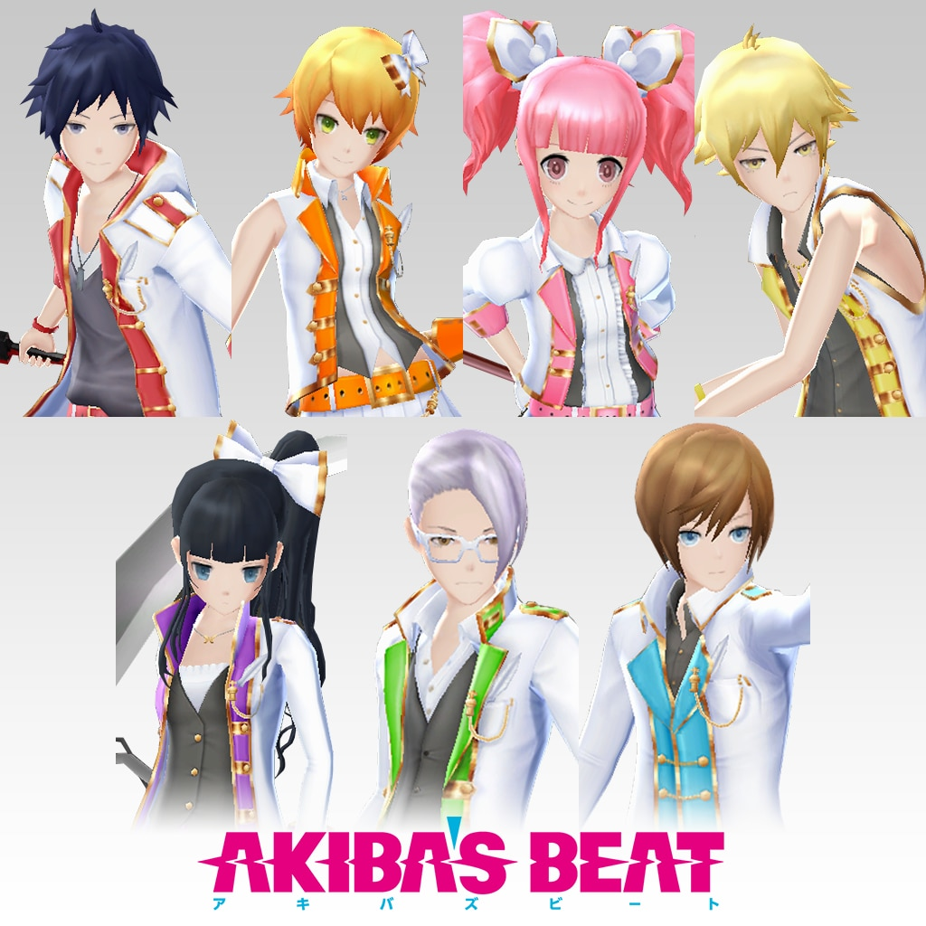 Akiba's Beat — Idol: White Set