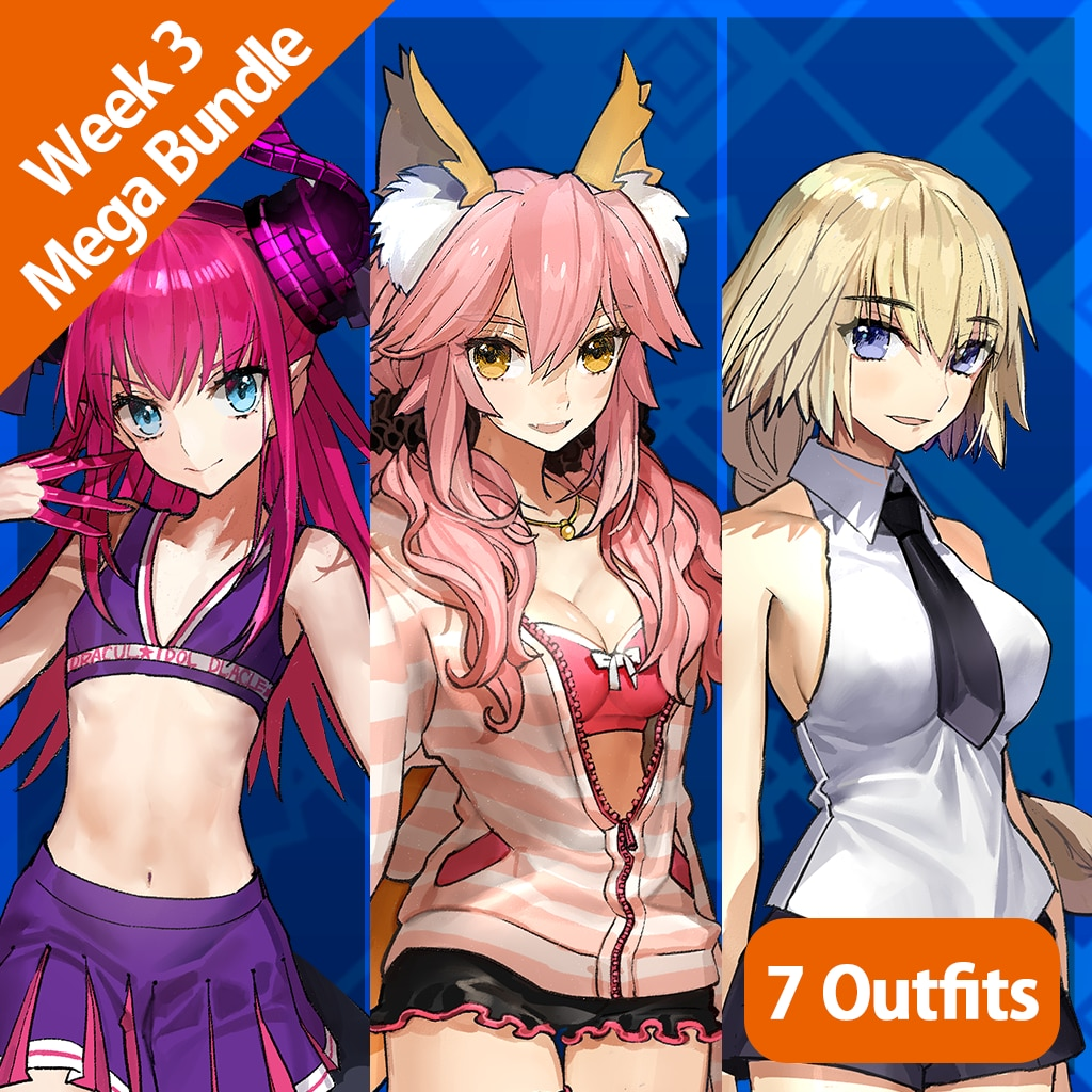 Fate/EXTELLA — Week 3 Mega-Bundle