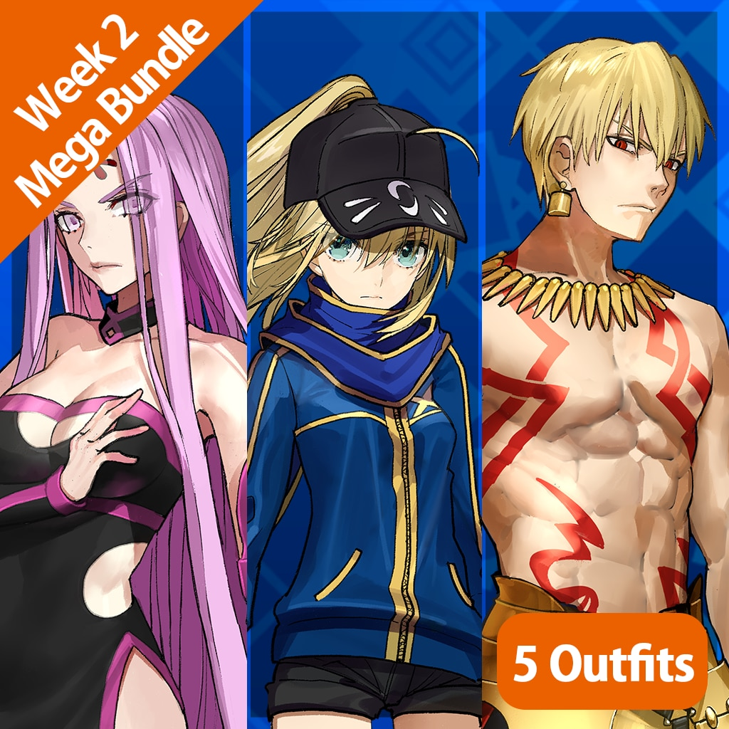 Fate/EXTELLA — Week 2 Mega-Bundle