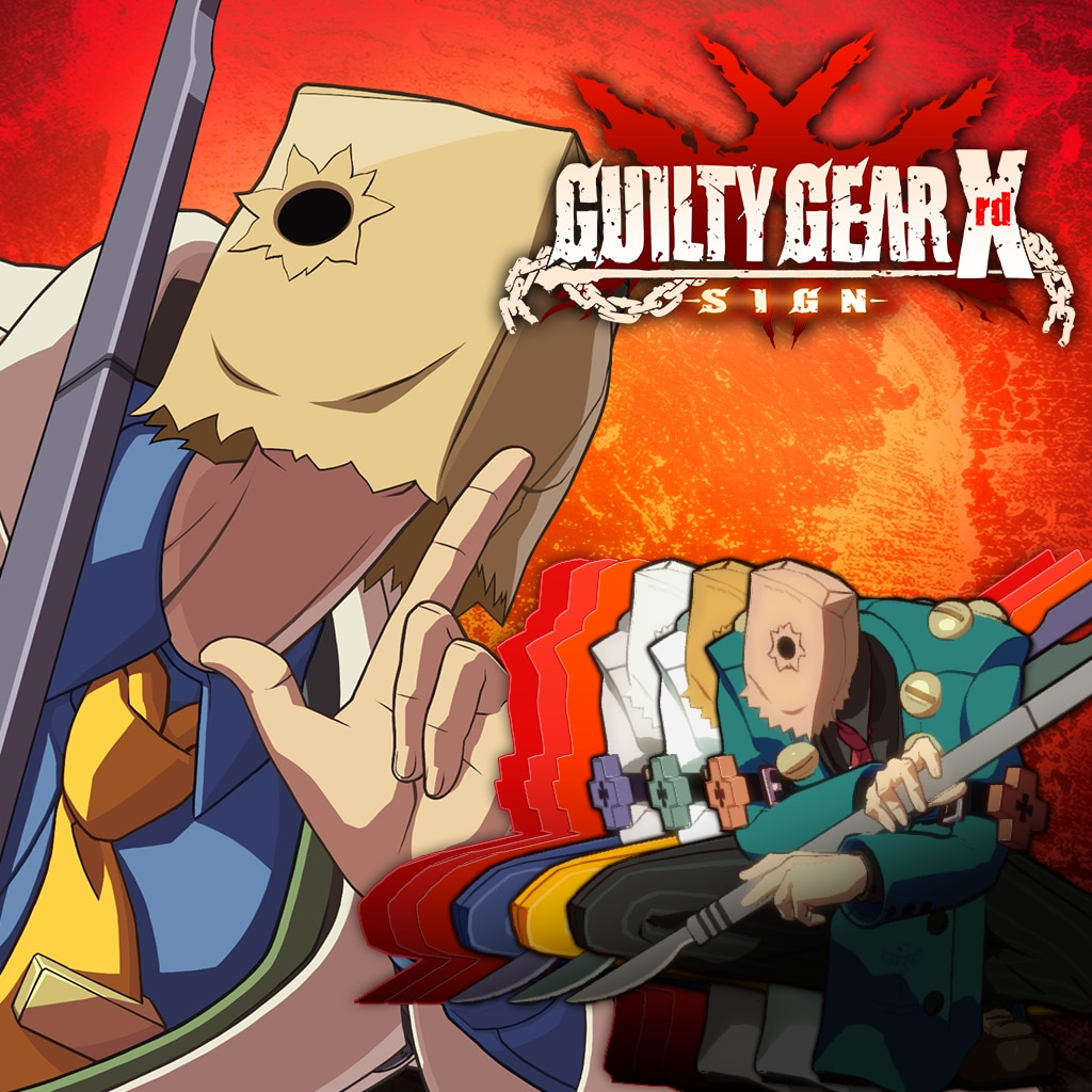 Guilty Gear Xrd -SIGN- Character Colors - Faust