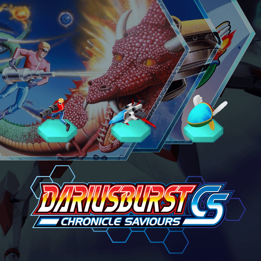 DARIUSBURST Chronicle Saviours - SEGA Pack (English Ver.)