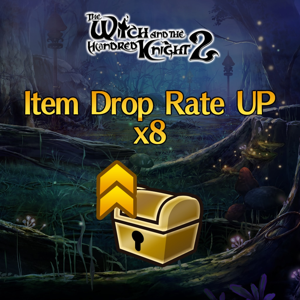 Hundred Knight 2: Witch's Secret Skill [Item Drop Rate UP] x8