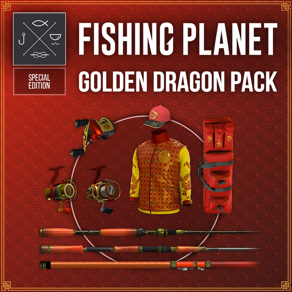 Fishing Planet: Golden Dragon Pack