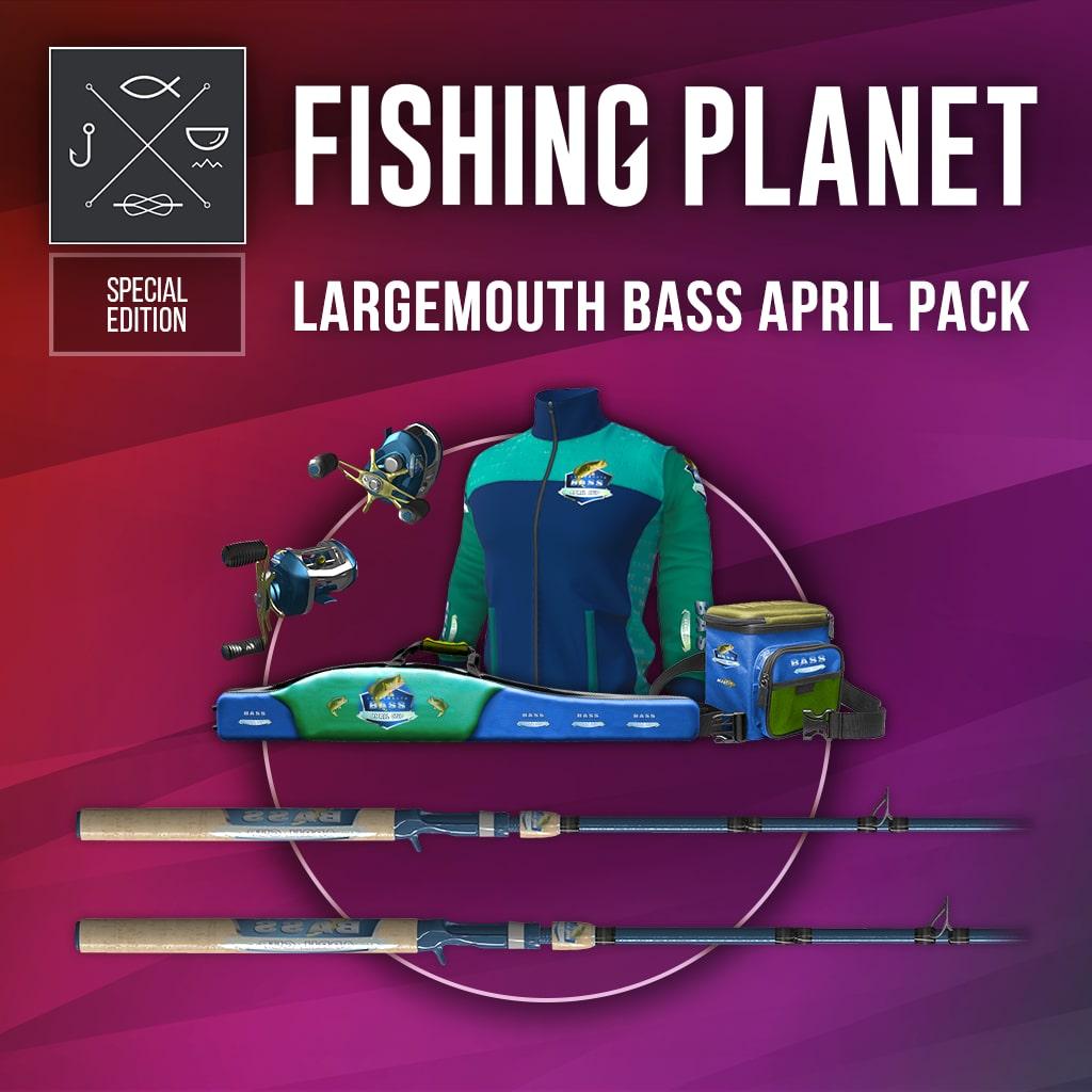 Largemouth Bass April Pack