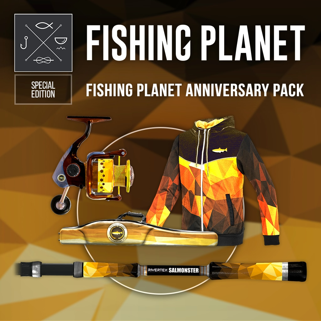 Fishing Planet Anniversary Pack