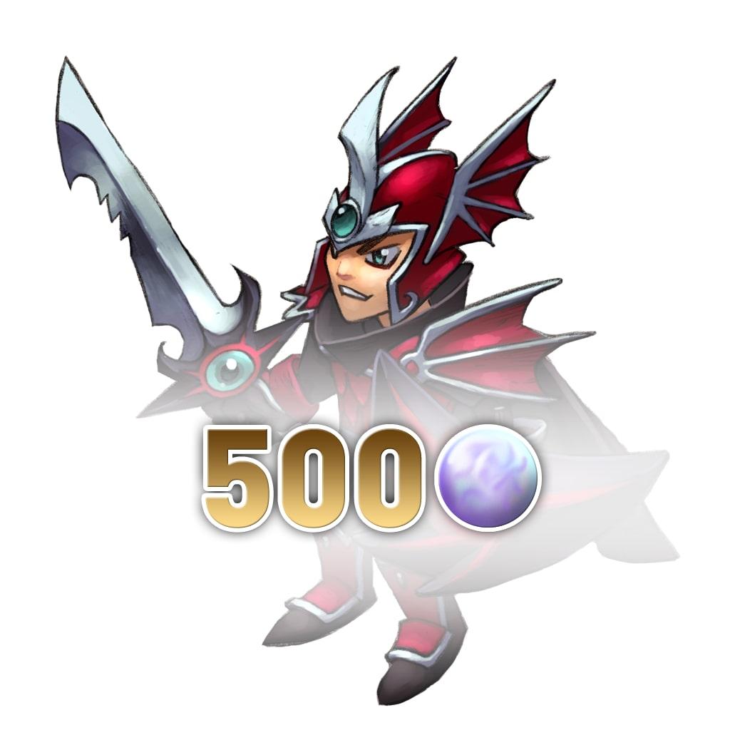 500 Rainbow Pearls (Baldren) (English Ver.)