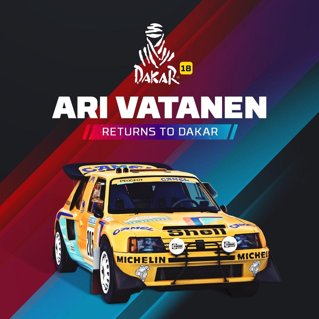 Dakar 18: Ari Vatanen returns to Dakar!